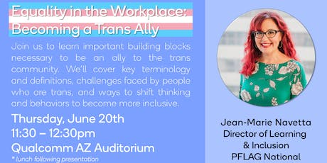 Equality in the Workplace: Becoming a Trans Ally tickets