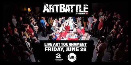 Art Battle Ottawa Regional Finals! - June 28, 2019 tickets