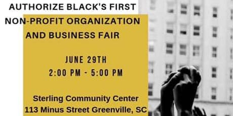 Authorize Black's First Non-Profit Organization & Business Fair tickets