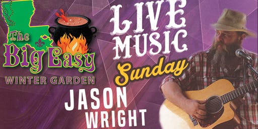 Jason Wright Performing Live on The Big Easy Stage