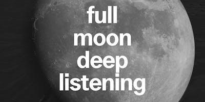 Mare Nostrum: Deep Listening Under the Full Moon