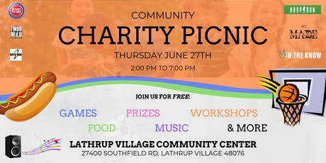 Community Charity Picnic tickets