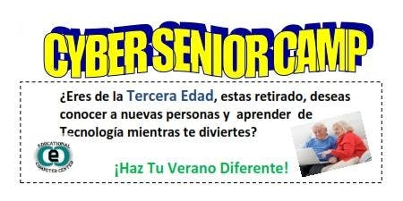 CYBER SENIORS CAMP -ADULTOS