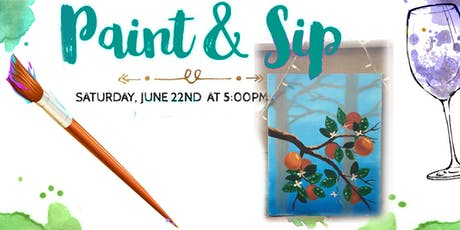 Trax Paint & Sip tickets