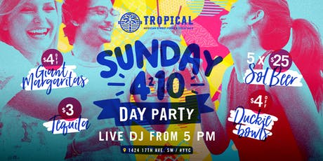 Sunday Day Parties  tickets