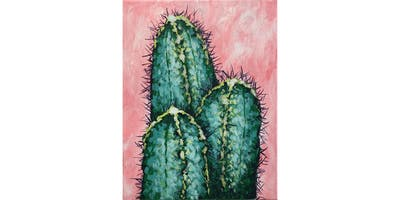 Ally's Art - Spiky Friends - fun painting class in Wheeling, IL