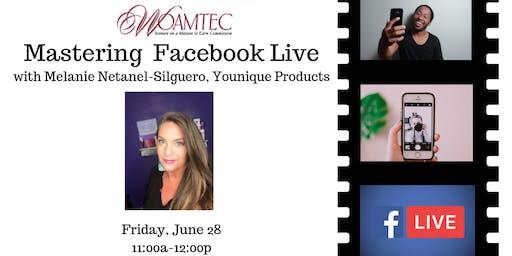 WOAMTEC Free Workshop - Mastering Facebook Live