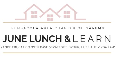 NARPM Lunch & Learn- Property Insurance Claims Fundamentals