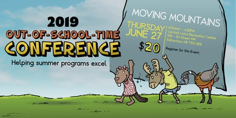 2019 Out of School Time Conference tickets