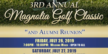 National Alumni Association of Stillman College's 3rd Annual Magnolia Golf Classic tickets