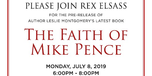 """The Faith of Mike Pence"" Book Launch"