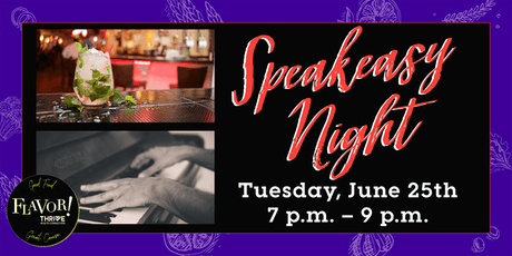 Speakeasy Night at The Piano Room tickets