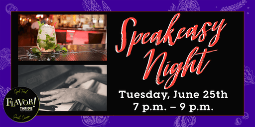 Speakeasy Night at The Piano Room