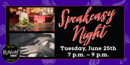 Speakeasy Night at The Piano Room