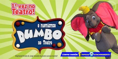 """Desconto! Espetáculo """"O Fantástico Dumbo no Teatro"""" no Teatro BTC ingressos"""