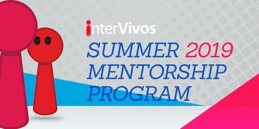 Summer 2019 Mentorship Program-Protégé Registration