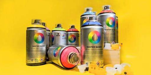 MTN Water Based Spray Paint - FREE Lunch Time Demo!