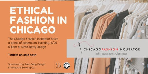 Ethical Fashion in Chicago Panel Discussion