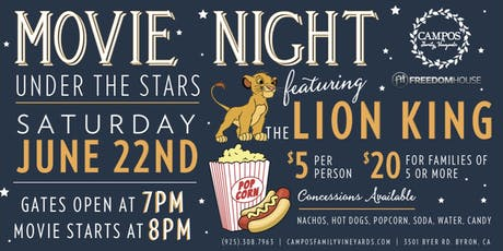 Movie Night - The LION KING tickets