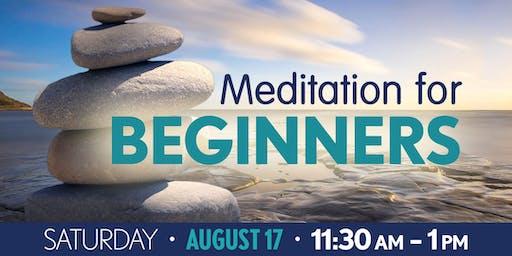 Meditation for Beginners: August