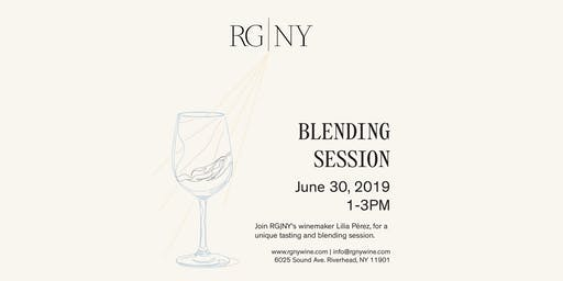 Blending Session at RG|NY - June Session