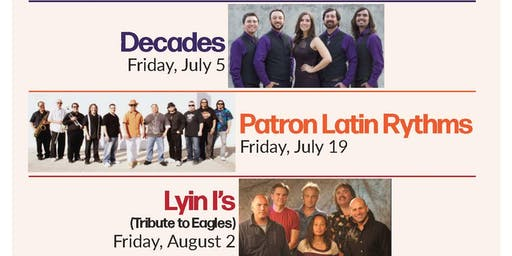 Friday, July 5: Music at the Grove - DECADES