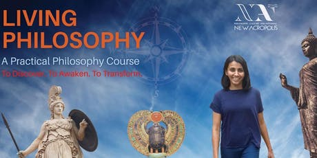 Living Philosophy course | Sep'19 batch tickets