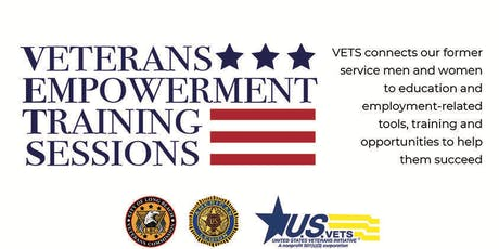 Veterans Empowerment Training Sessions (VETS) tickets