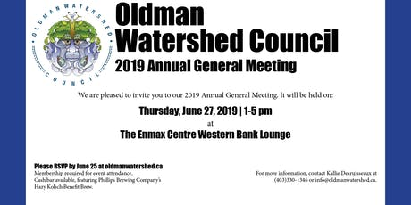 OWC Annual General Meeting 2019 tickets