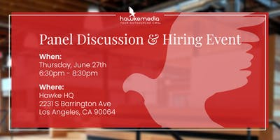 Hawke Media: Panel Discussion & Hiring Event