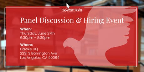 Happy Hiring Hour - Panel Discussion & Hiring Event tickets