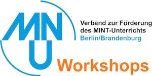 Buchung von Workshops für die Tagung des MNU LV...