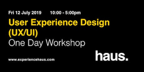 User Experience Design (UX/UI) - One-Day Workshop by Experience Haus tickets