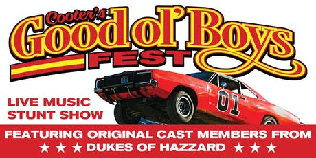 Cooter's Good Ol' Boys Fest tickets