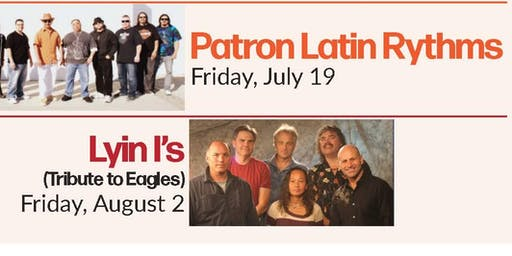 Friday, August 2: Music at the Grove - Llyin l's (Tribute to Eagles)