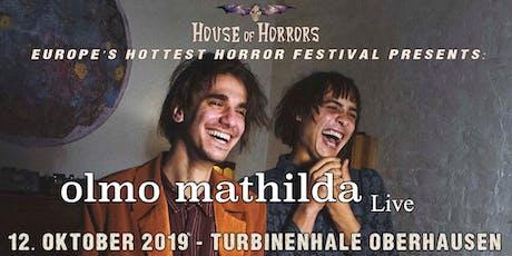 Olmo Mathilda Konzert 12. Oktober 2019 Tickets