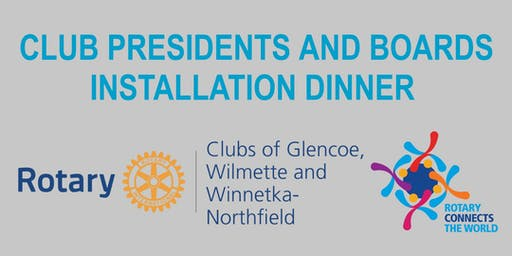 New Trier Rotary Club Installation Dinner