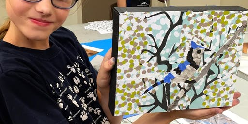 Torn Paper Mosaics with Tessa Stanley