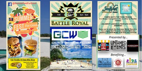 SummerFest For Good: Burger Battle Royal tickets