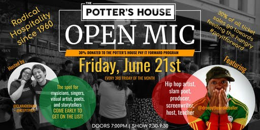 The Potter's House Open Mic