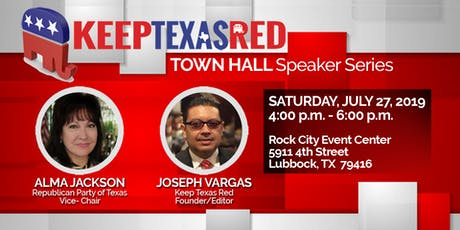 Keep Texas Red Townhall - Lubbock TX tickets