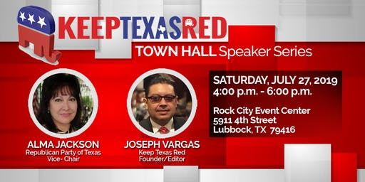 Keep Texas Red Townhall - Lubbock TX