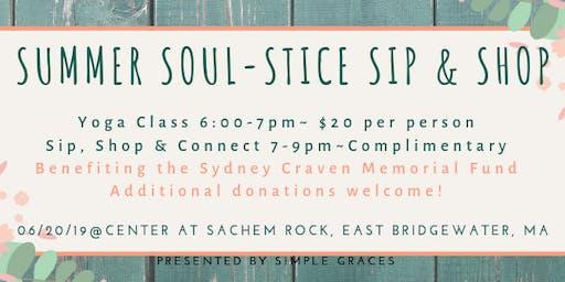 Summer Soul-Stice Sip & Shop
