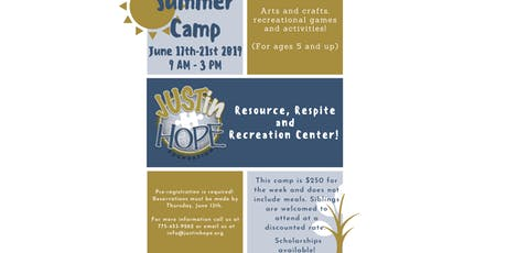 JUSTin Hope Summer Camp  tickets