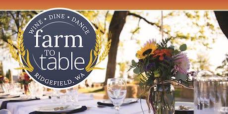 Ridgefield Farm to Table Dinner tickets