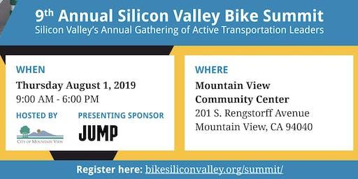 Volunteer: Silicon Valley Bike Summit: August 1, 2019