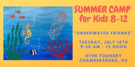 """Summer Camp for Kids - """"Underwater Friends"""" tickets"""