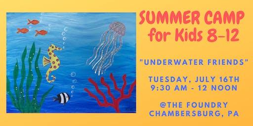 """Summer Camp for Kids - """"Underwater Friends"""""""
