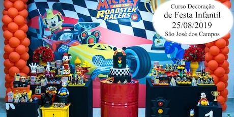 Curso Decoração Infantil São José dos Campos tickets