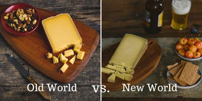 Old World vs. New World Cheese